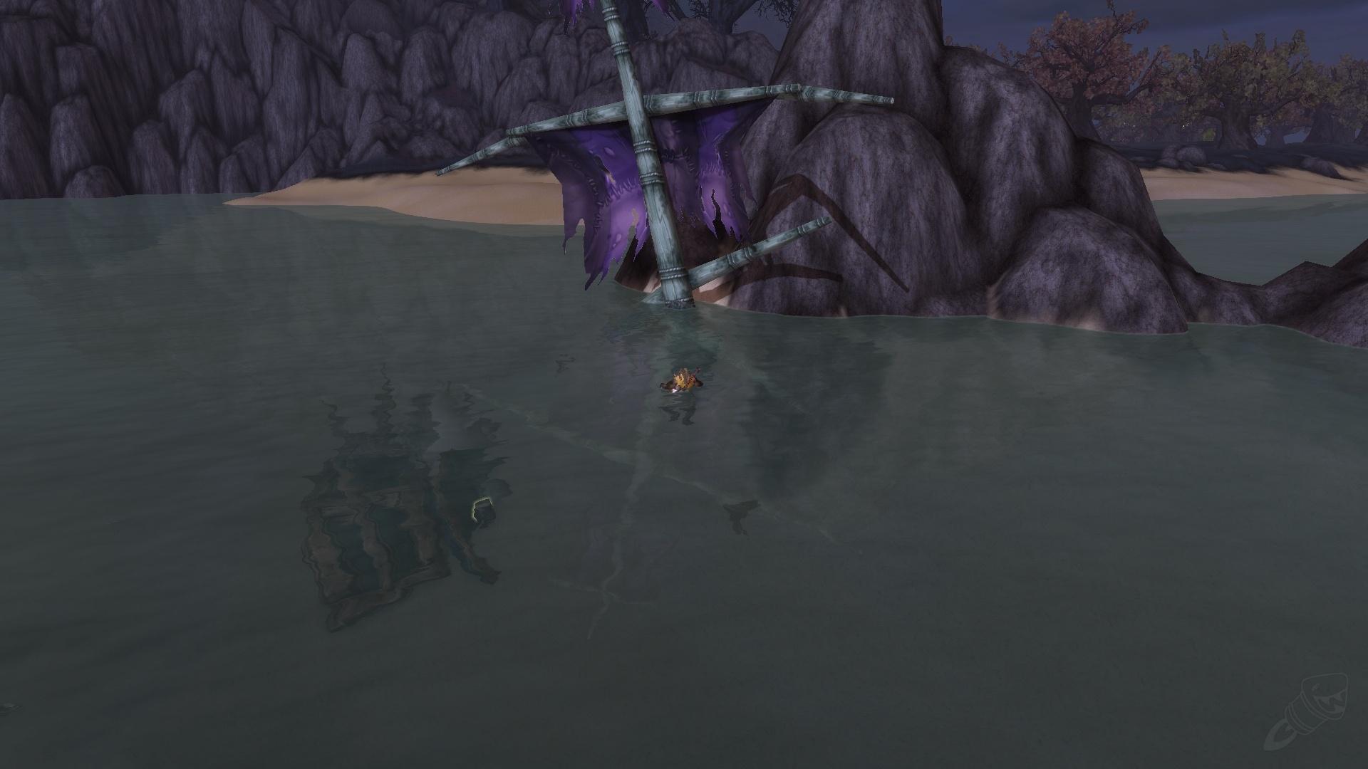 Carte Au Tresor Effacee.Faded Treasure Map Objet World Of Warcraft