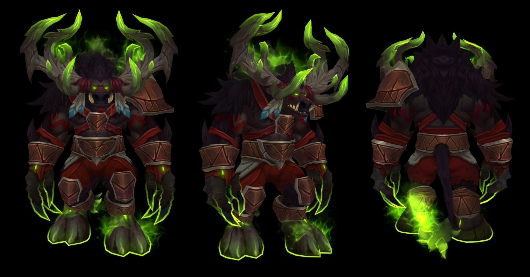 Tier 19 Mythic Death Knight, Demon Hunter, Paladin, Priest, Rogue ...