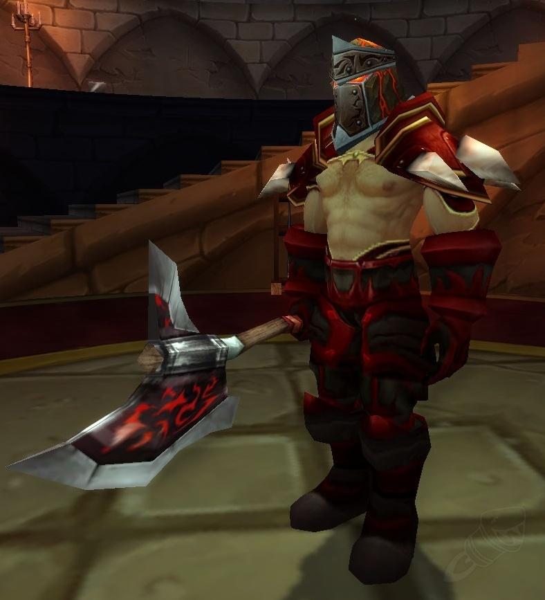 Armsmaster Harlan - NPC - World of Warcraft
