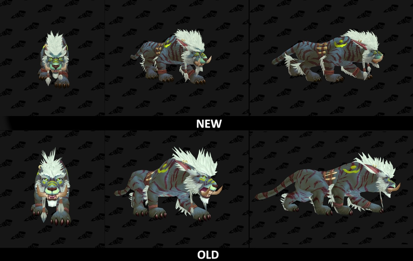 Wowhead Weekly 68 New Legion Cat Forms Blizzard Fashion