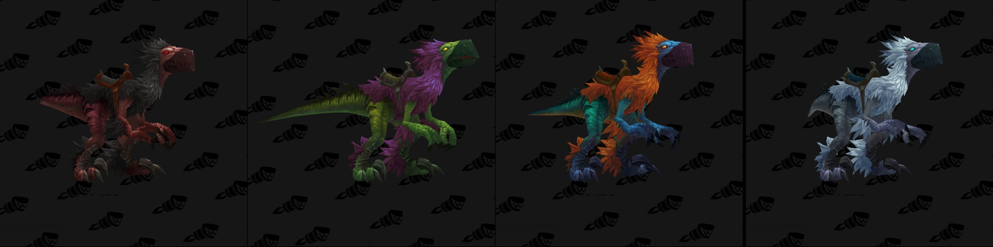 falcosauros mount
