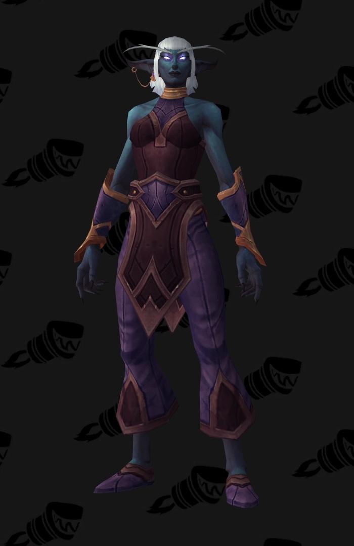 Warm World Of Warcraft Nude Npc Png