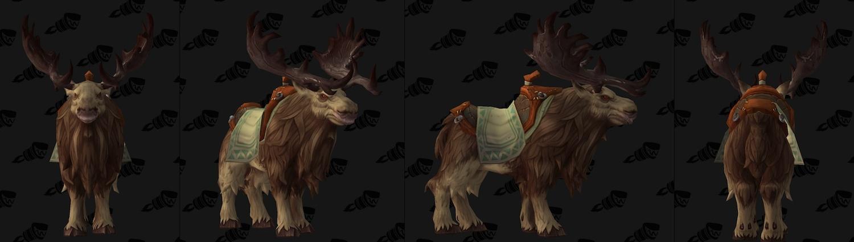 troll riding a goat leatherworking moose mount wowhead weekly legion racial leaders