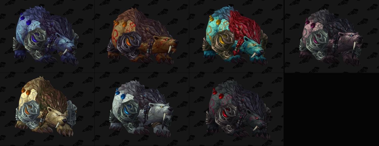 Guardian Druid Artifacts - Gallery - World of Warcraft