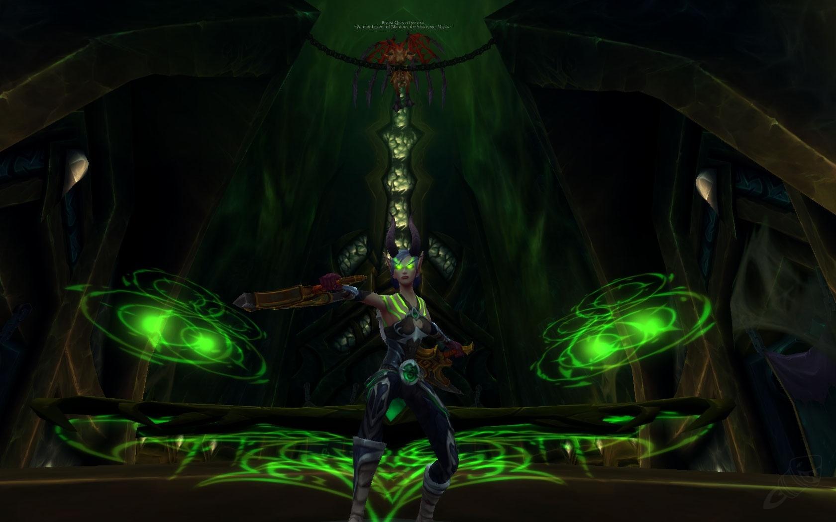 Vengeance Demon Hunter Artifact Weapon: Aldrachi Warblades