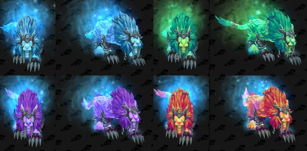 Image result for feral druid artifact forms