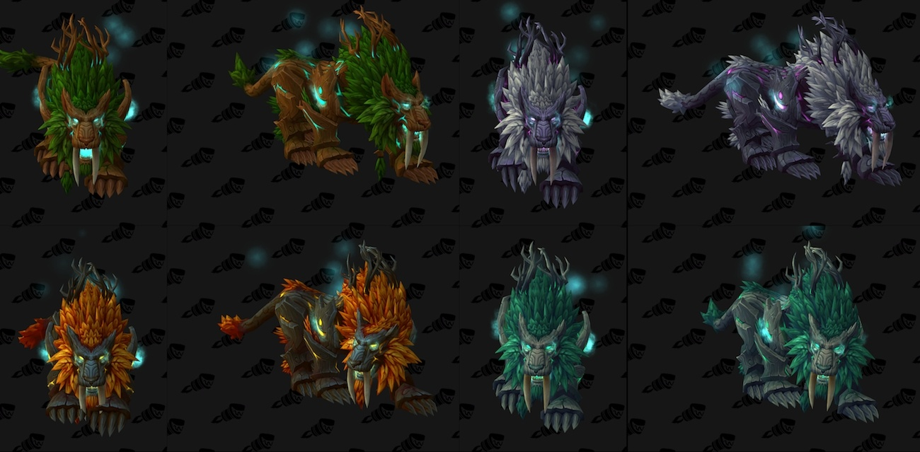 I'm just a little disappointed in the Moonkin skins : wow
