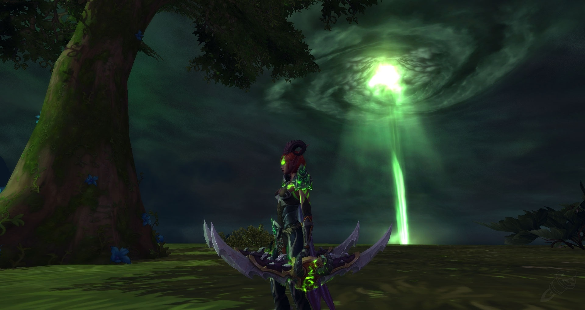 Havoc Demon Hunter Artifact Weapon: Twinblades of the
