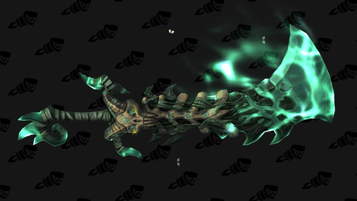 Legion Unholy Dk Animations And Artifact Preview Warcraft On Face