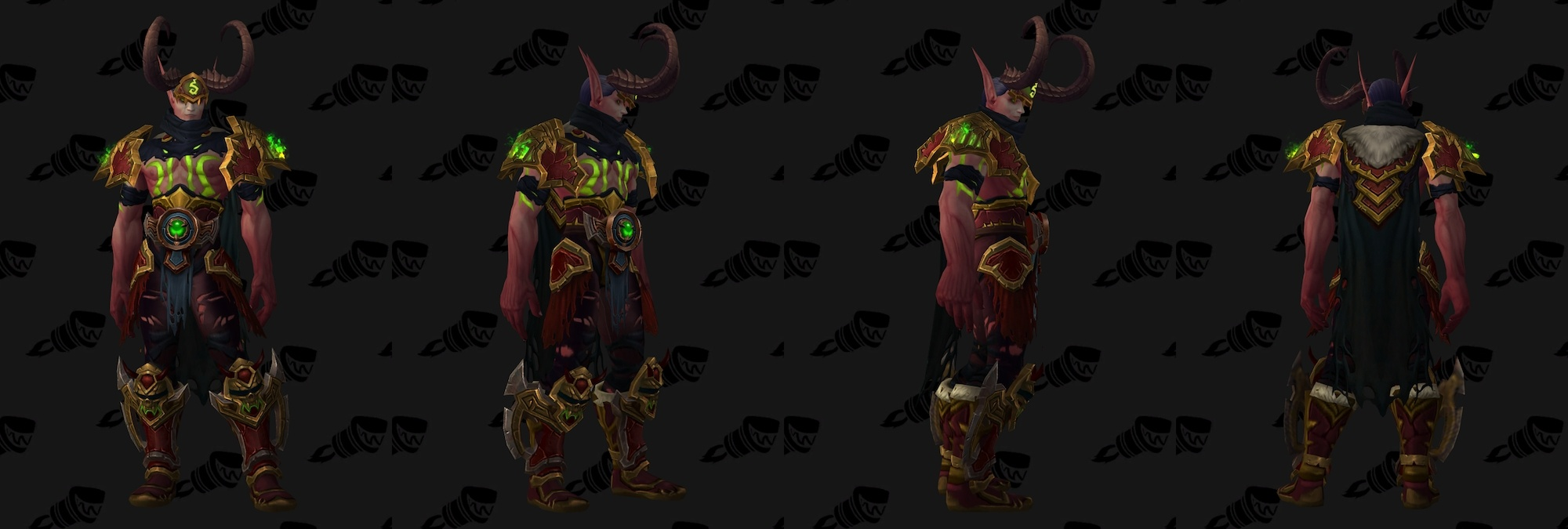 New order hall quest demon hunter class mount shar 39 thos for Demon hunter