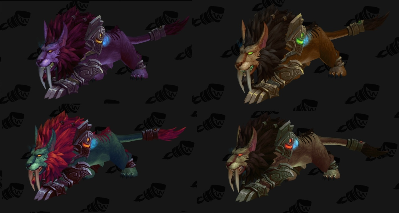 Wowhead Weekly #76, Druid Artifact Form Colors Per Race, Warcraft ...