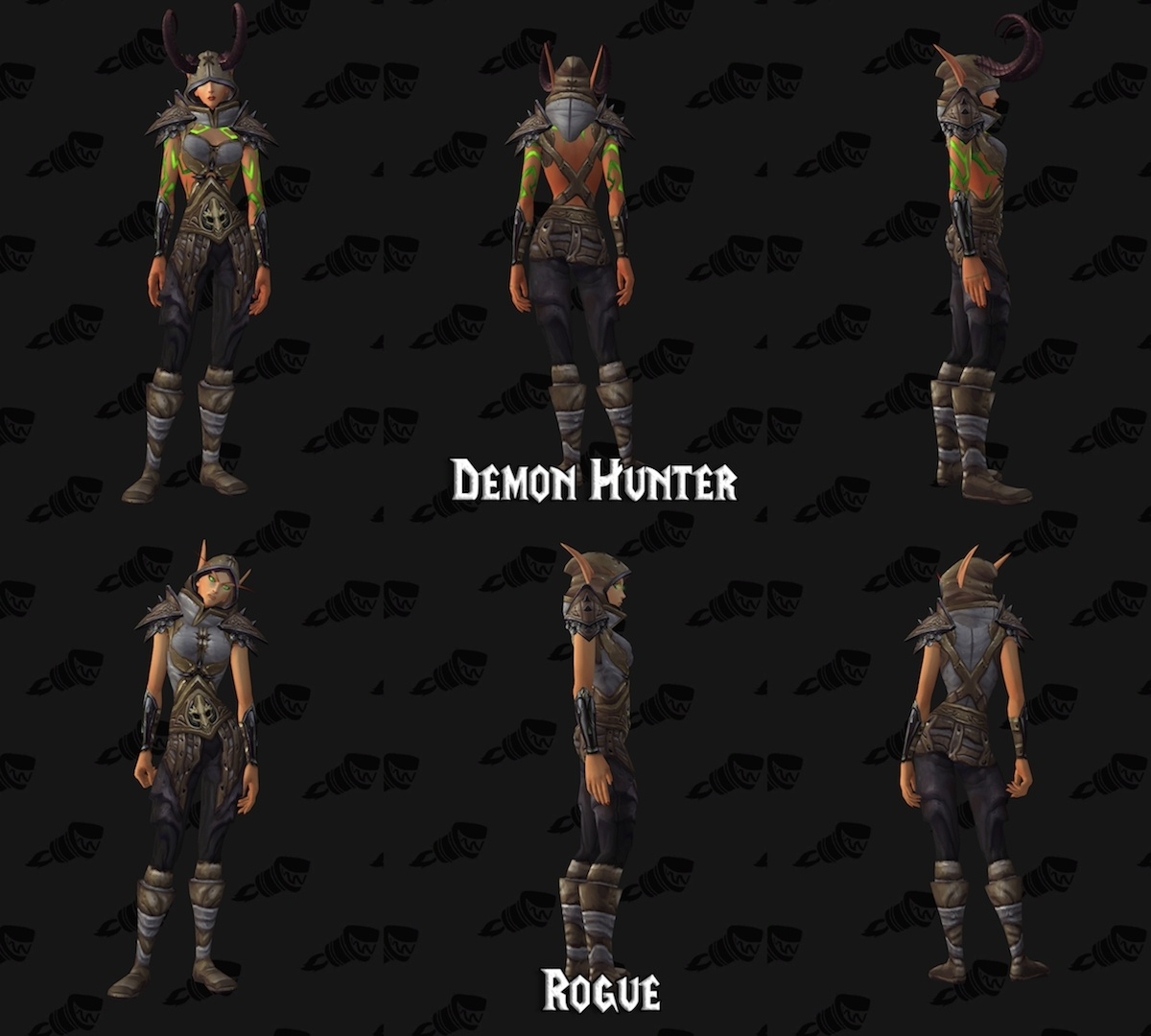 Demon Hunter Armor Appearances & All Transmog Sets for Demon Hunters - Guides - Wowhead