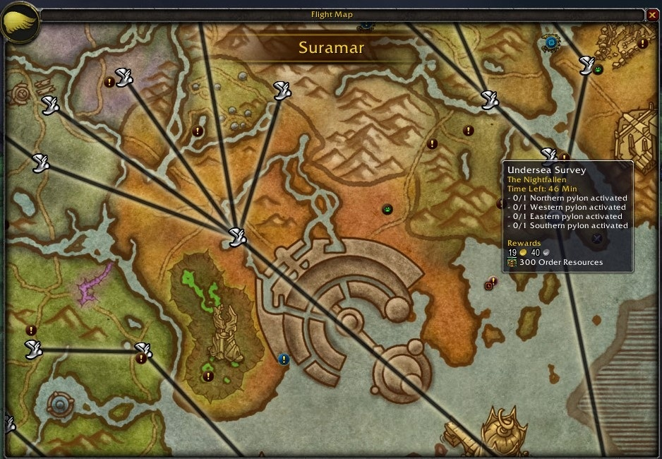 Guide to legion ui and quality of life improvements wowhead news you can also see the world better with the view distance increased dramatically gumiabroncs Image collections