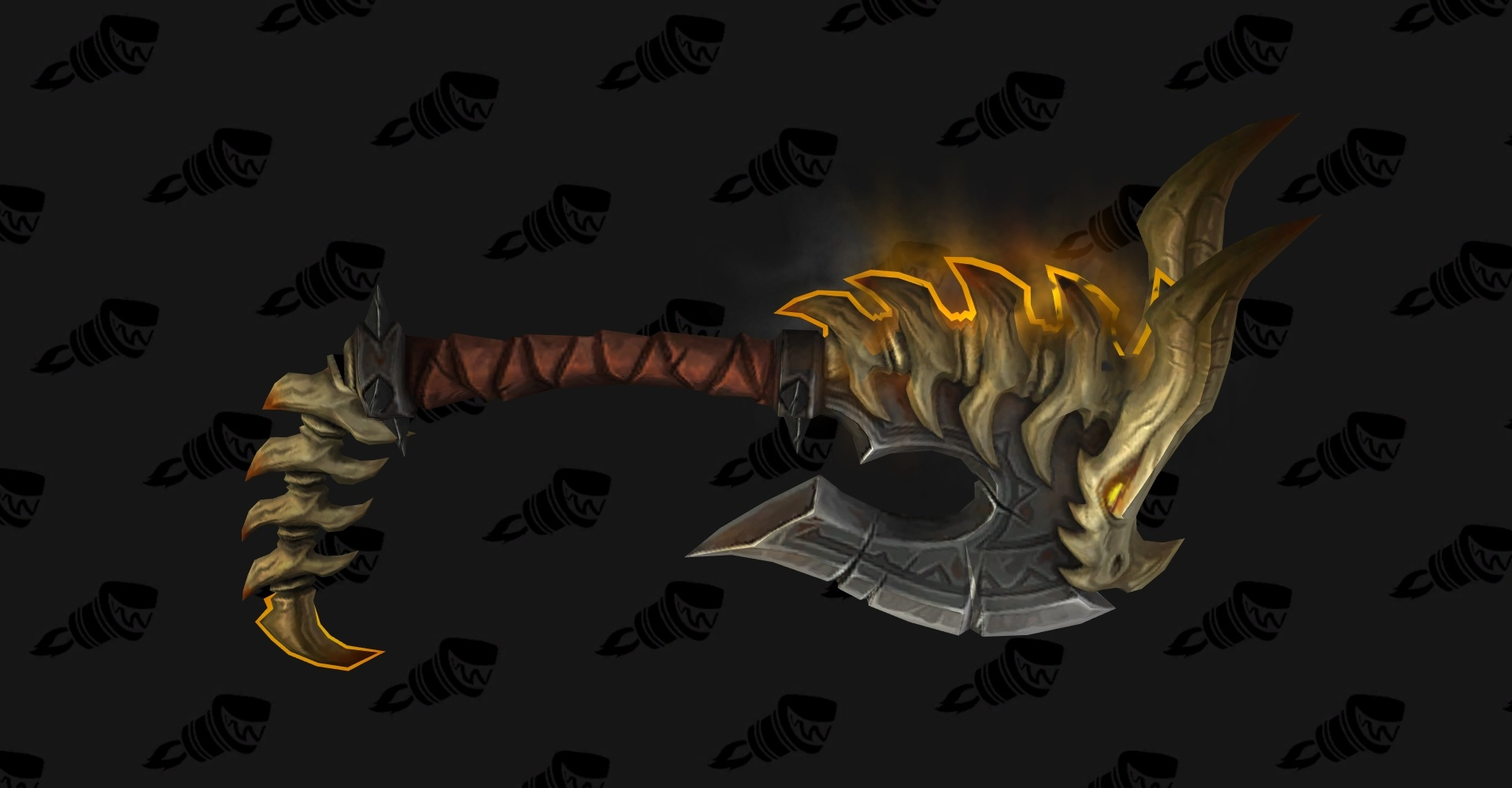 wow legion fury warrior hidden artifact weapon appearance