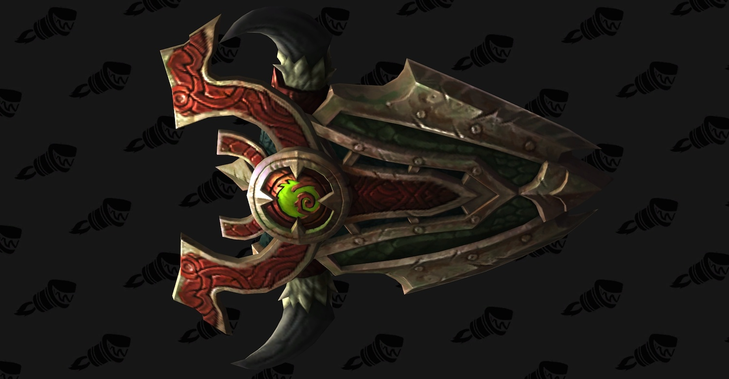 Protection Warrior Artifact Weapon: Scale of the Earth