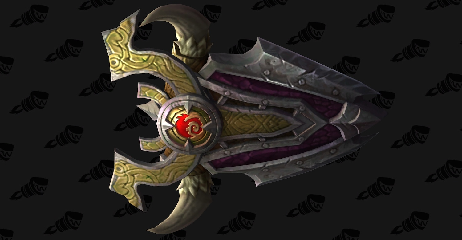 Protection Warrior Artifact Weapon: Scale of the Earth-Warder