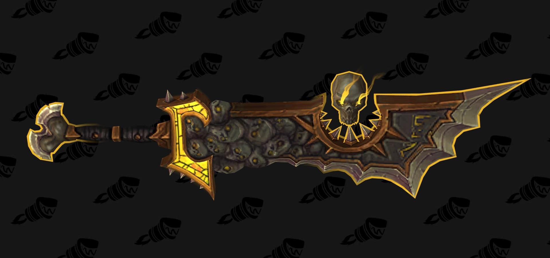 Retribution Paladin Artifact Weapon Ashbringer