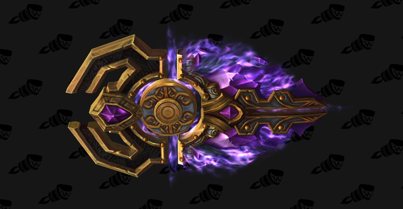 wow legion protection paladin hidden artifact weapon appearance
