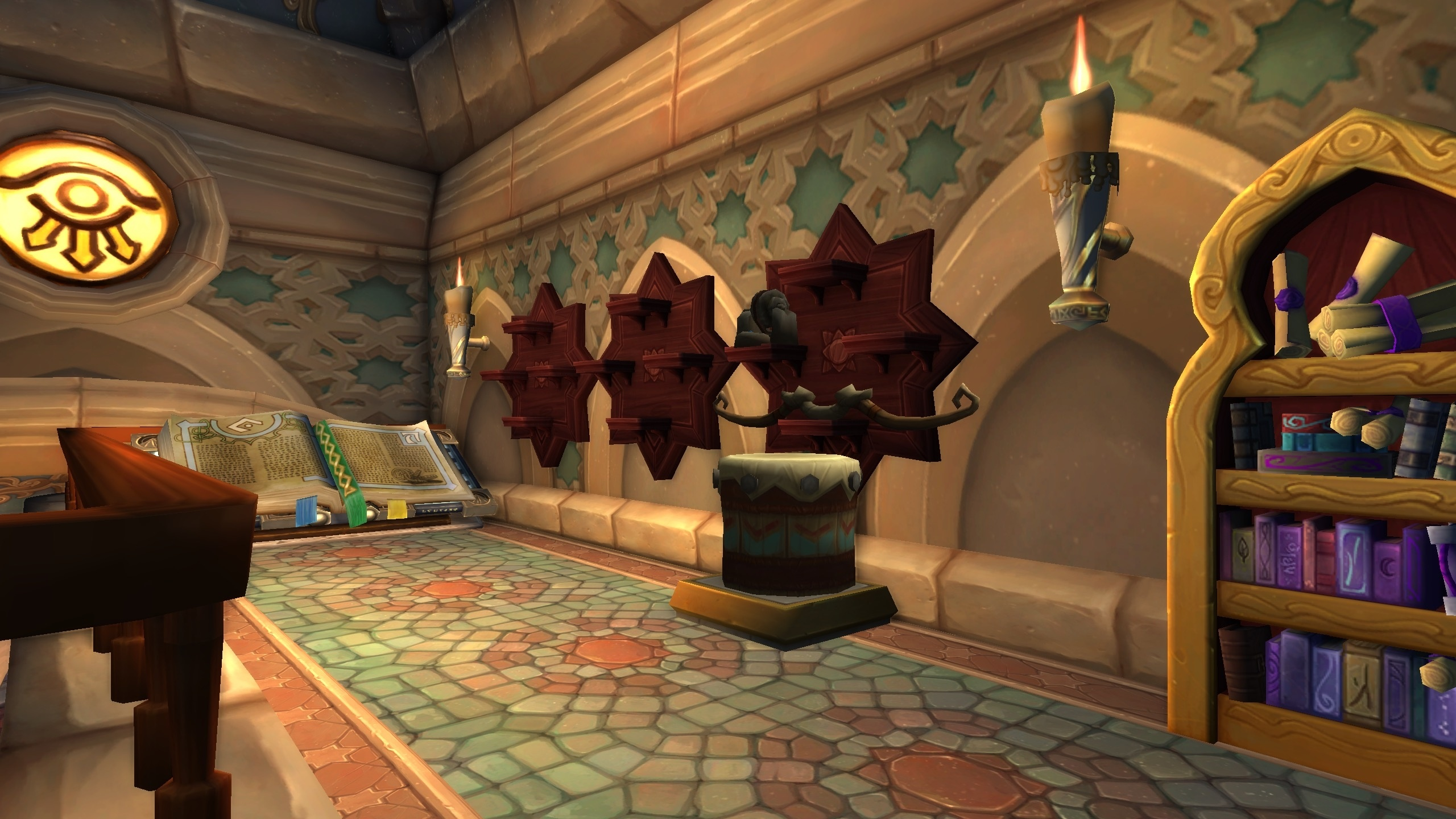 There Is A Special Archaeology Building In Dalaran This Is Where You Will Train Archaeology Pick Up Quests And Show Off Your Legion Pristine Artifacts