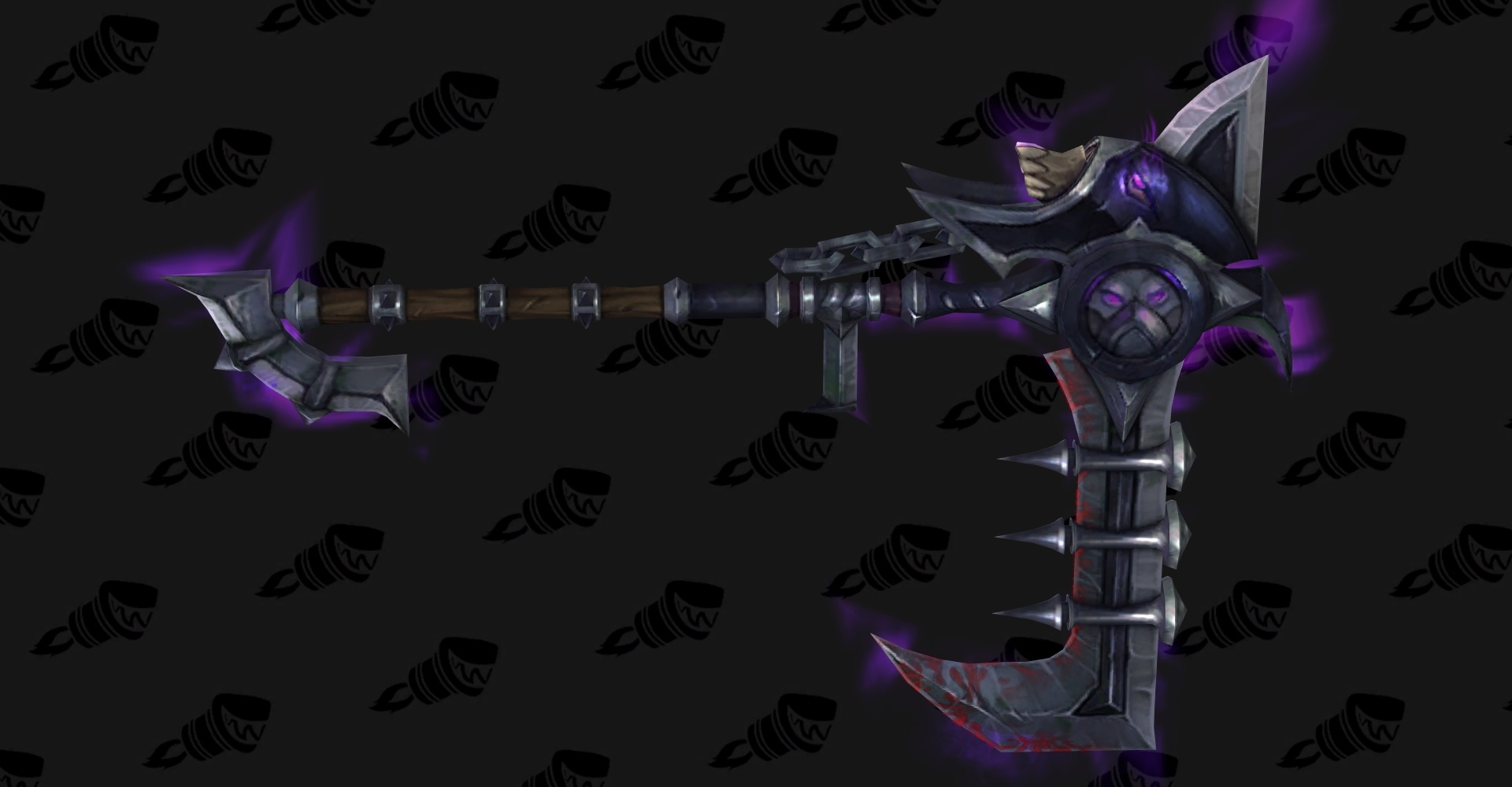 wow legion affliction warlock hidden artifact weapon appearance