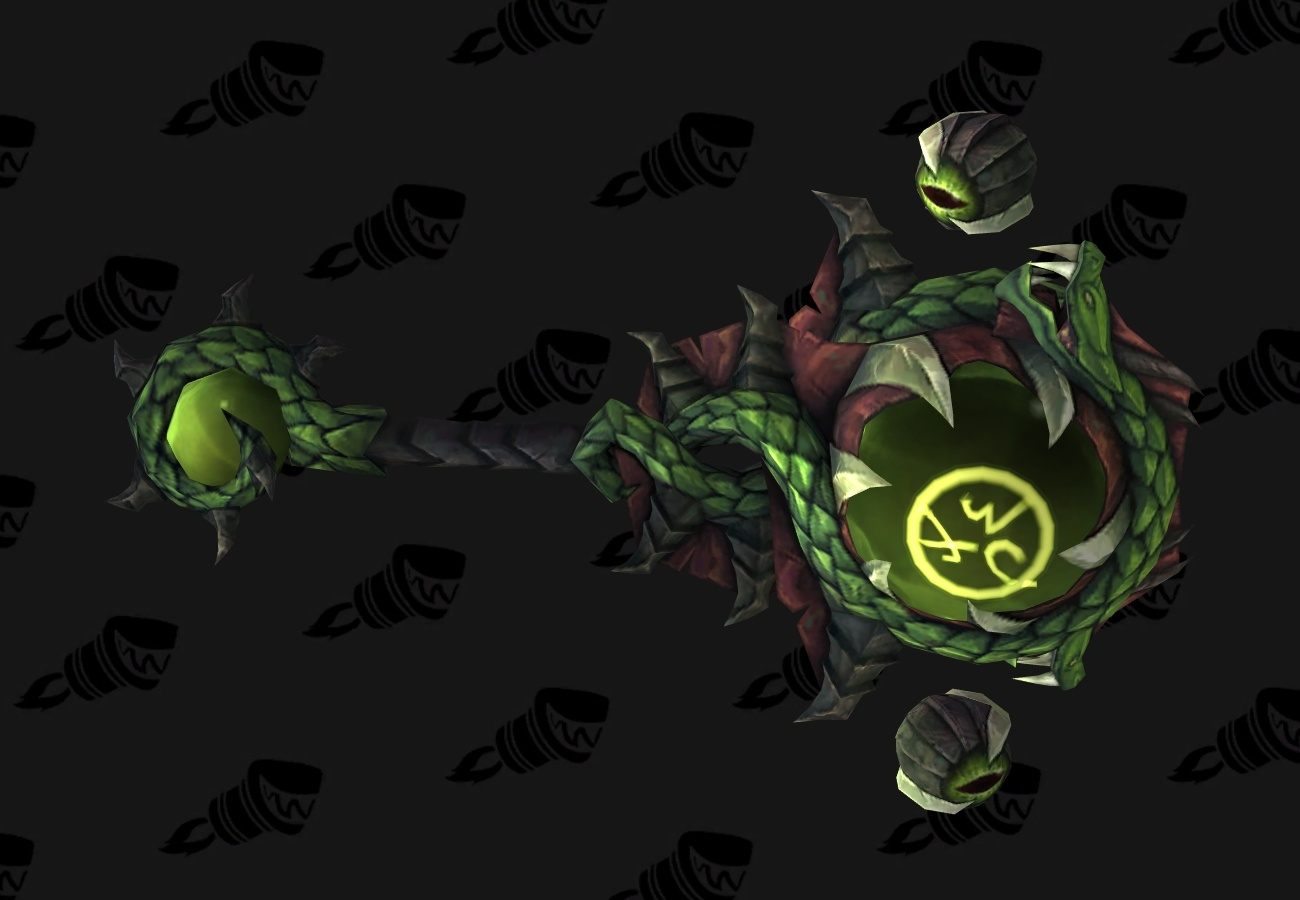 wow legion restoration shaman hidden artifact weapon appearance