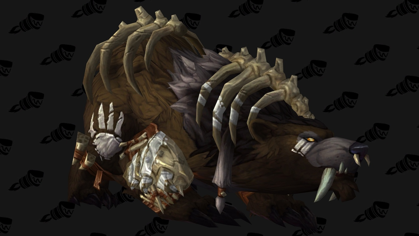 wow legion guardian druid hidden artifact weapon appearance