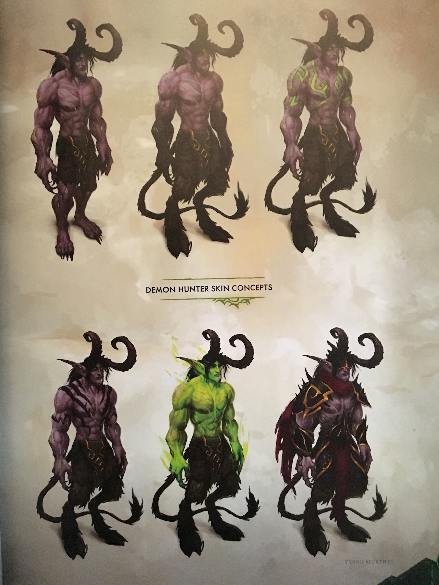 Demon Hunter Concept Art Wow