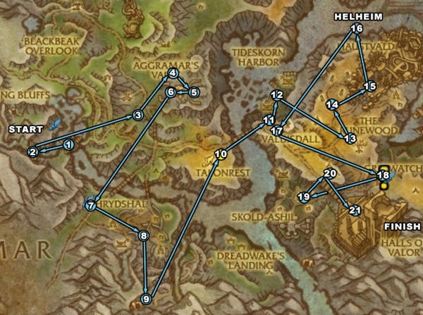 Stormheim Bonus Objectives Map Location