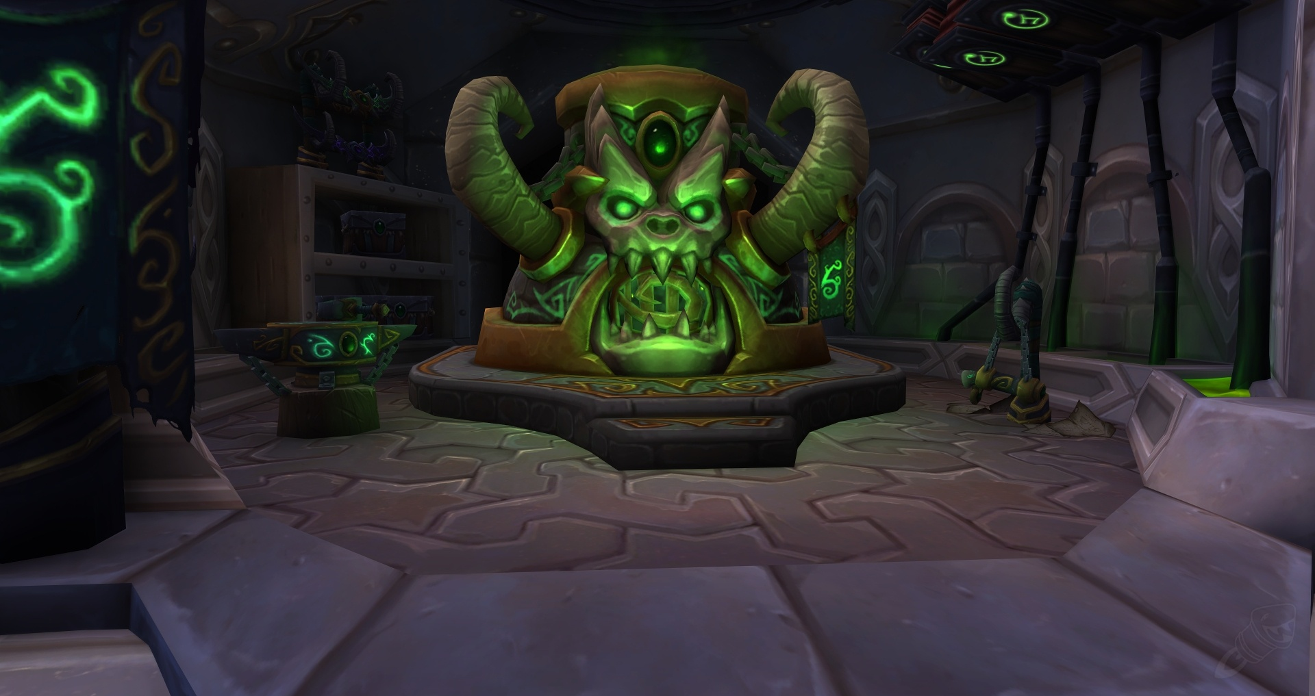 The Obliterum Forge Quest World Of Warcraft