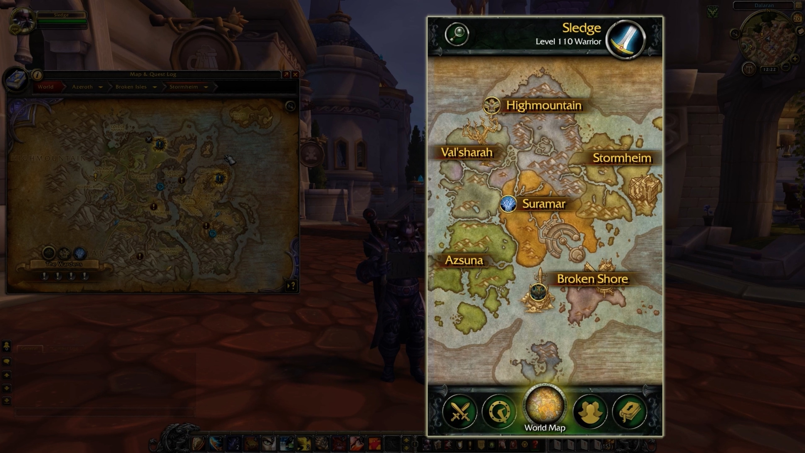 Legion companion app now live wowhead news the legion companion app is now live on android and ios allowing players to complete class hall missions on their phone and browse available world quests gumiabroncs Choice Image