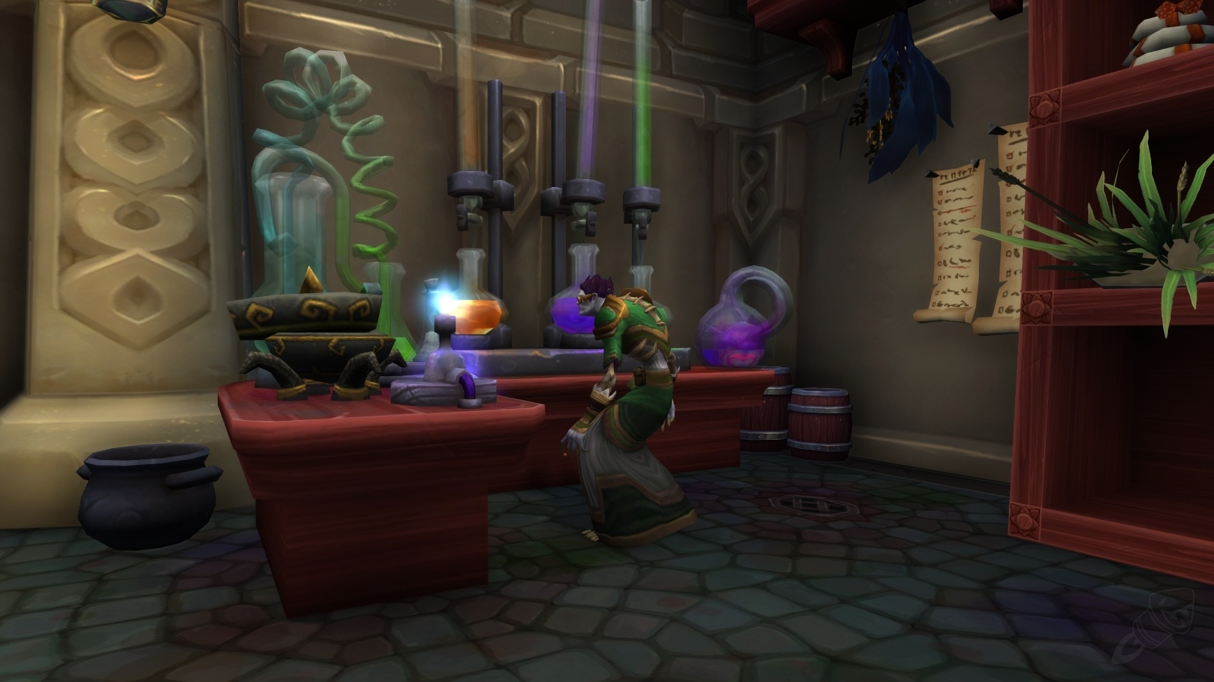 How To Craft Ancient Healing Potion In Wow Legion