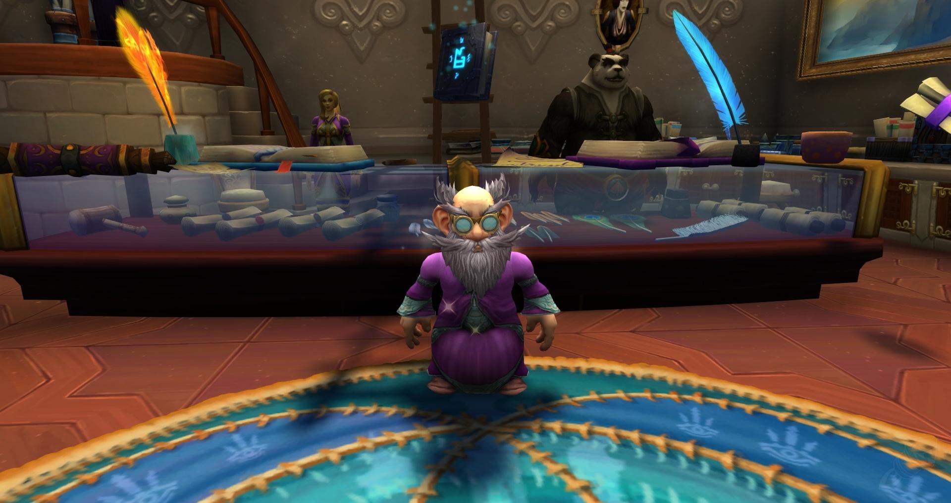 Hay un escriba para eso - Misión - World of Warcraft