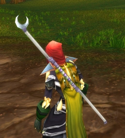 Image result for crescent staff wow