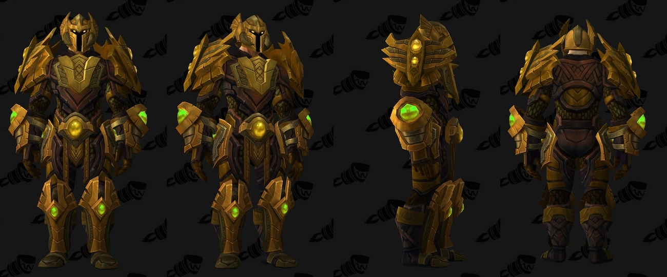 Trial of Valor Transmog - Funerary Plate of the Chosen Dead & Trial of Valor Plate Transmog Set Demonology Hidden Artifact ...