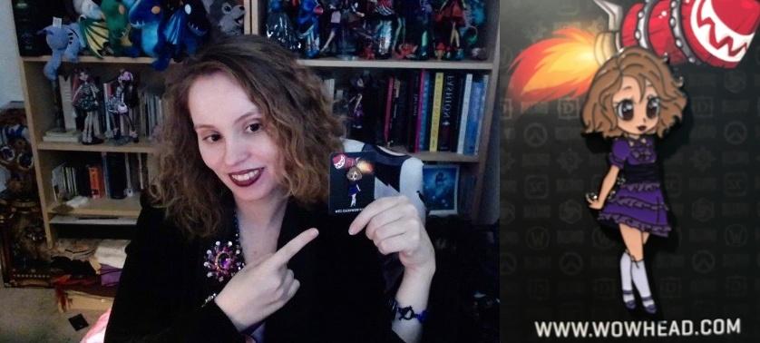 wowhead pin freebie code and blizzcon virtual ticket shadow