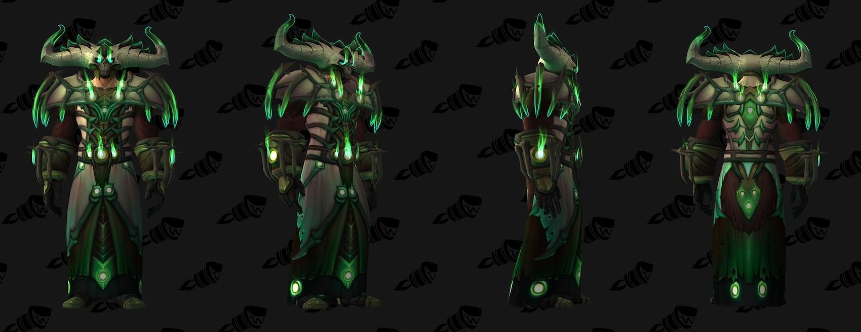 Warlock Tier 20 Armor Set Models - Wowhead News