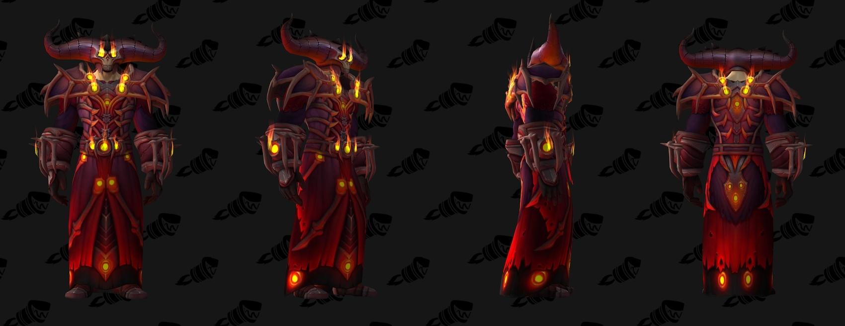 Warlock Tier 20 Armor Set Models - Notizia di Wowhead