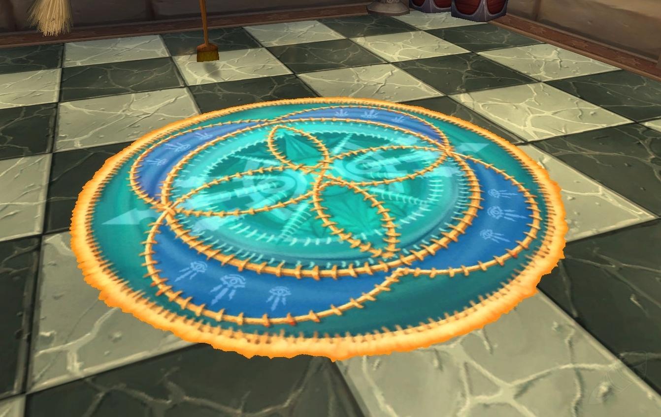 Staubiger Teppich Objekt World Of Warcraft