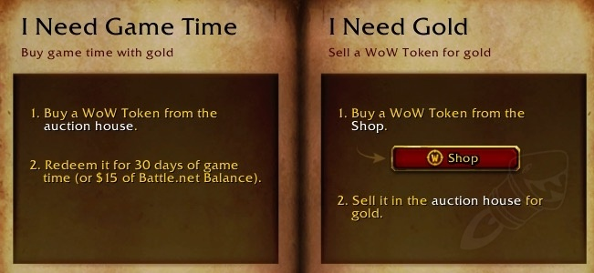 Wow Token To Battle Net Balance Now Live On Us And Eu Realms