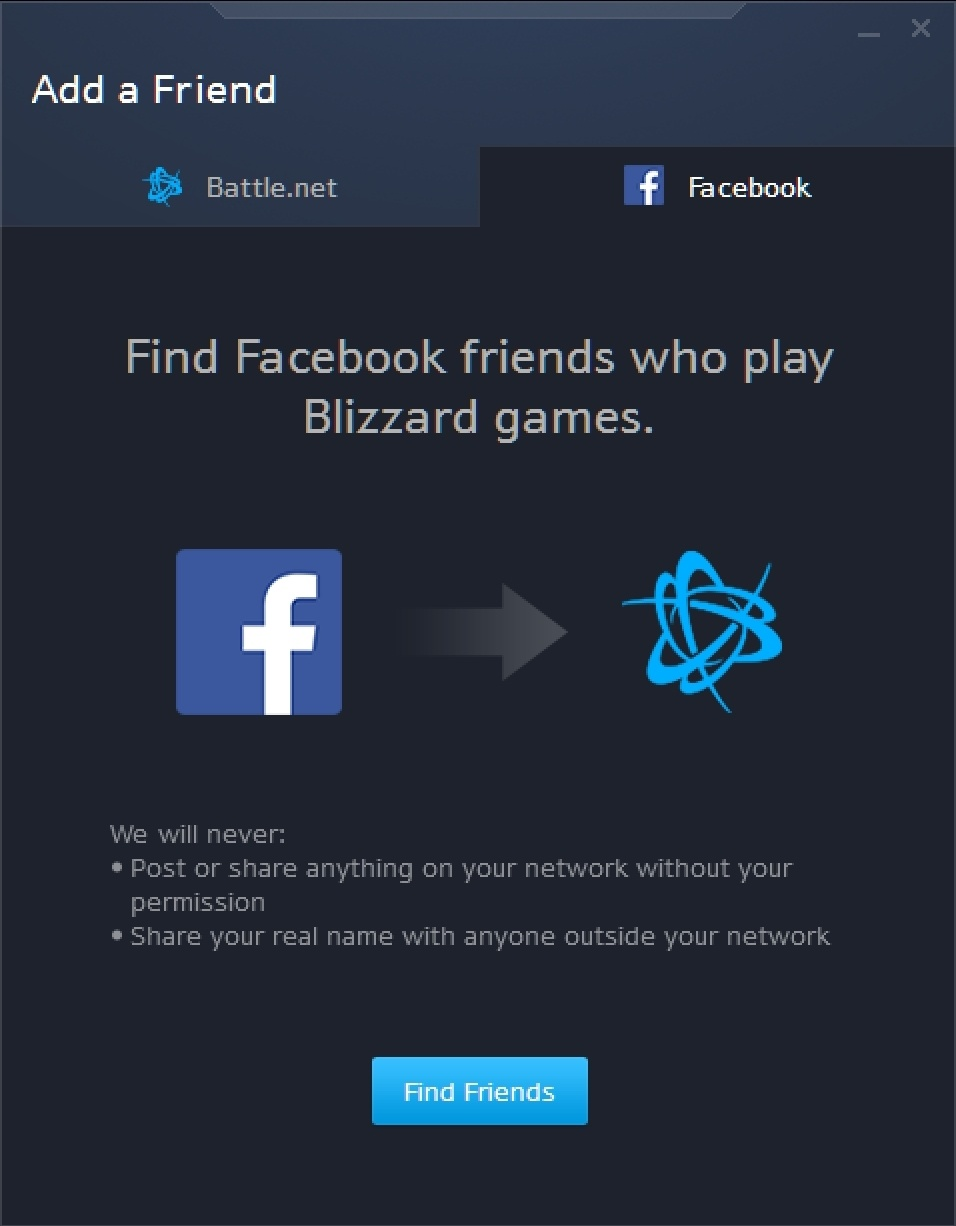 Facebook Friends and Suggested Friends Live in Battle.net App - Wowhead News