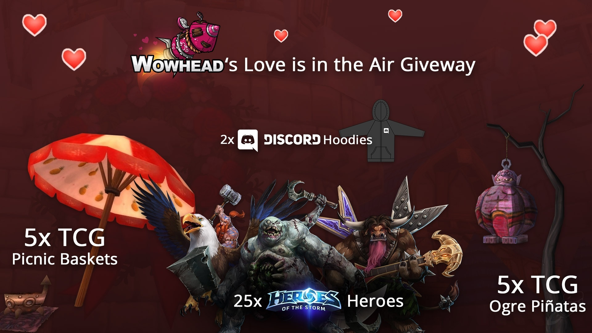 2017 Love is in the Air Giveaway and Warcraft Cookbooks