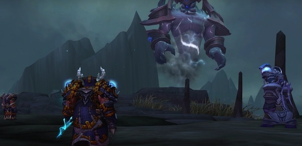 Shaman Class Mount And Quest Farseer S Raging Tempest Wowhead News