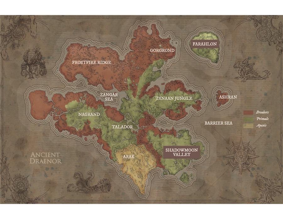 World of warcraft: chronicle volume 1 art album on imgur.