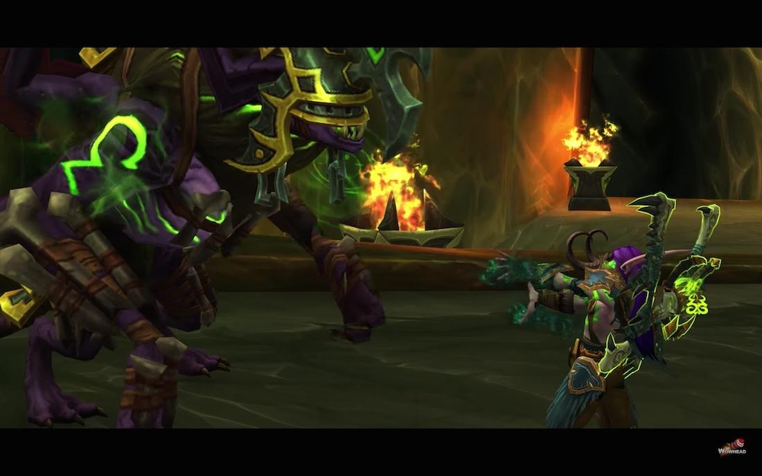 Demon Hunter Class Mount And Quest Slayers Felbroken Shrieker