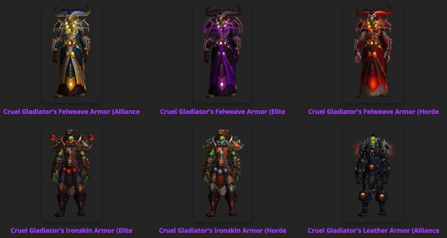 These sets can now be added via the PTR Dressing Room as well. Not sure what items match this set? Visit the \ Transmogrified With\  tab on any transmog set ...  sc 1 st  Wowhead & Wowhead Transmog Sets Updated for Patch 7.2 - Wowhead News
