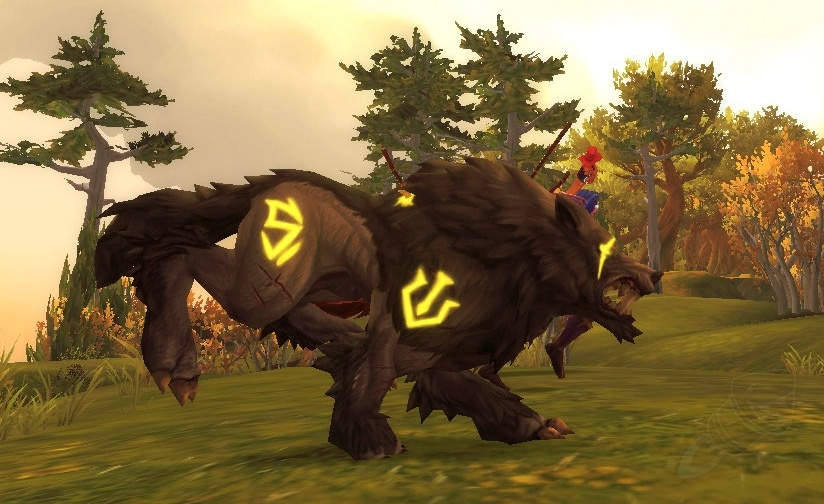 Hunter Pet Hidden Tame Updates Fenryr Gon Lost Spectral Gryphon Wowhead News