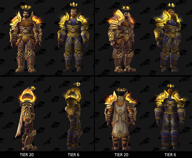 Paladin Tier 20 Armor Set - Radiant Lightbringer Armor - Wowhead News