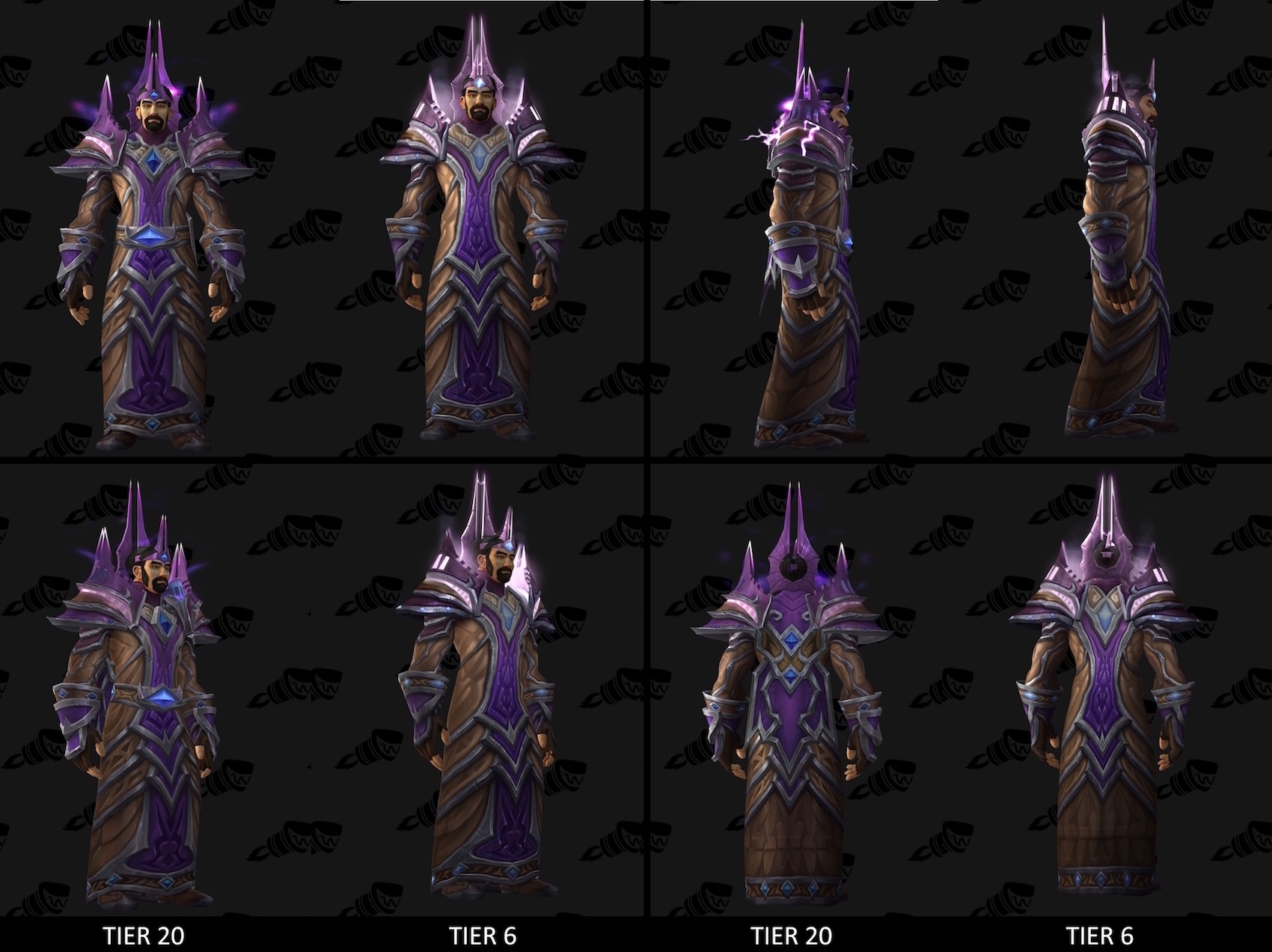 Tier 20 Armor Sets and Bonuses from Tomb of Sargeras