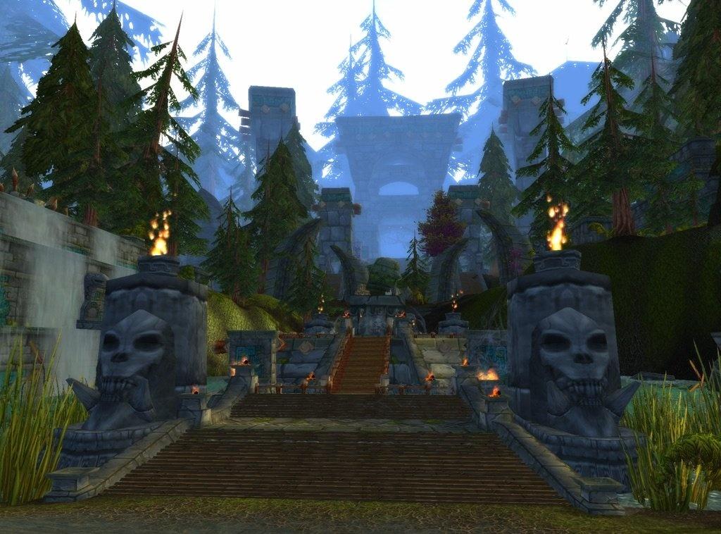 Zulaman Zone World Of Warcraft