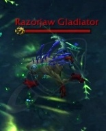 Гладиатор из племени Острозубов необходимо отворачивать от рейда. Держитесь от них подальше во времяСосредоточенная атака.